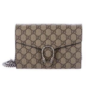 PRE-OWNED: Gucci GG Dionysus Wallet On Chain